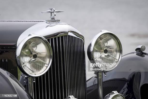 Bentley 8 litre Gurney Nutting Sport Tourer, winner of the Best of Show award, owned by Billionaire Michael Kadoorie, chairman of Hong Kong And...