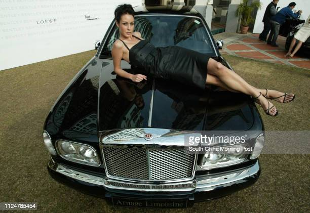 Bentley Arnage Limousine is here in Hong Kong, priced at HK$12.8 million, making it the mpst expensive car ever in Hong Kong. Model Helena. 13...
