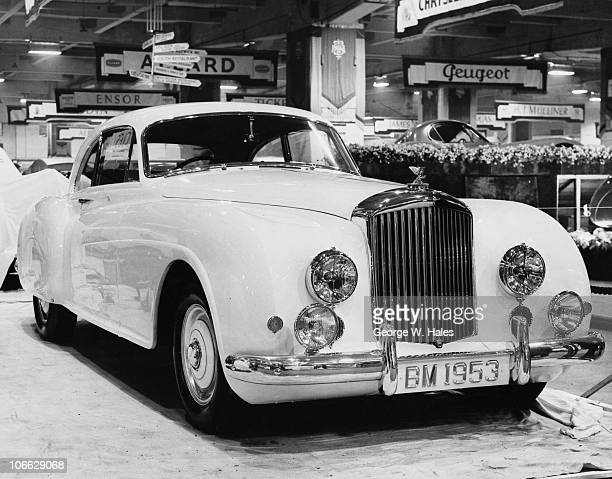 Bentley at the Earl's Court Motor Show London 21st October 1952