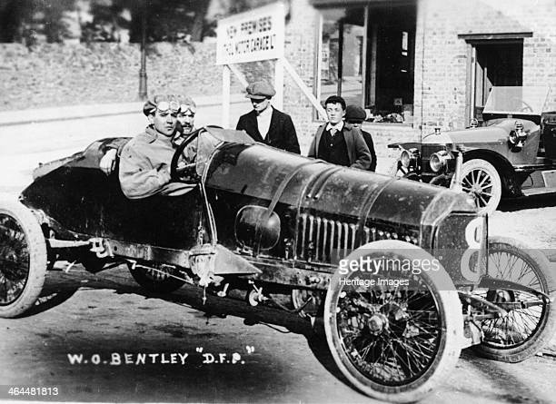 WO Bentley at the wheel of his DFP car 1914 He and his brother Horace bought the UK agency of DFP cars in 1912 and called the company Bentley and...