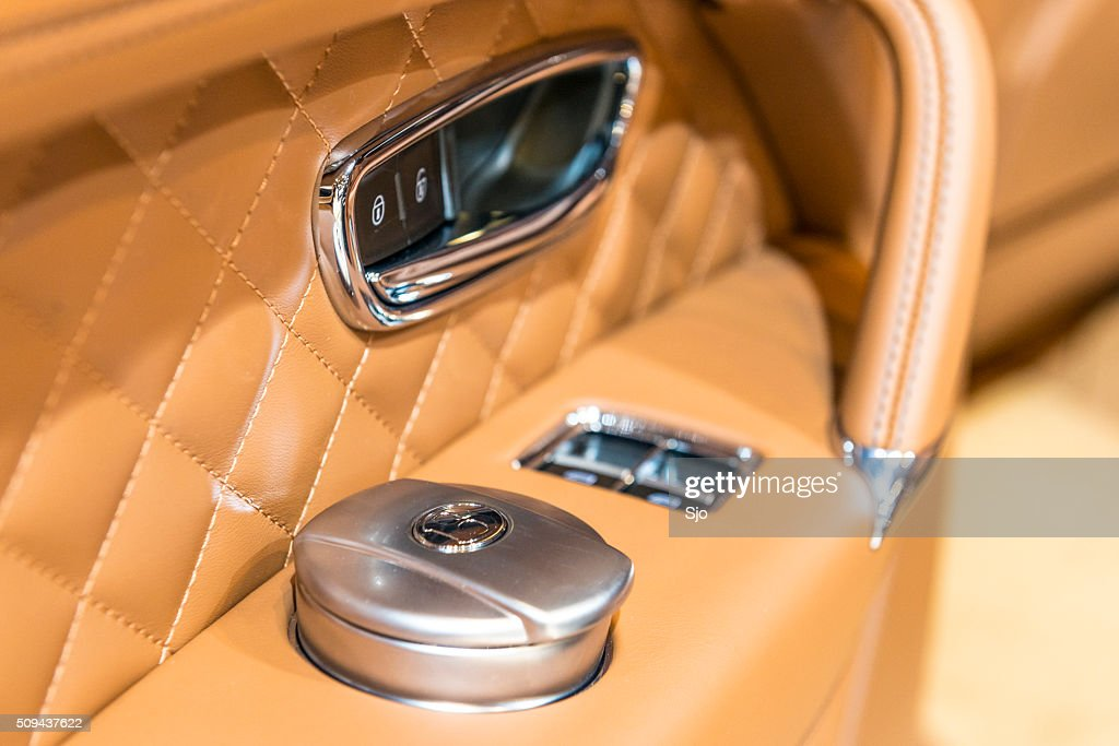 Bentley Bentayga Luxury Suv Interior Detail High Res Stock Photo Getty Images