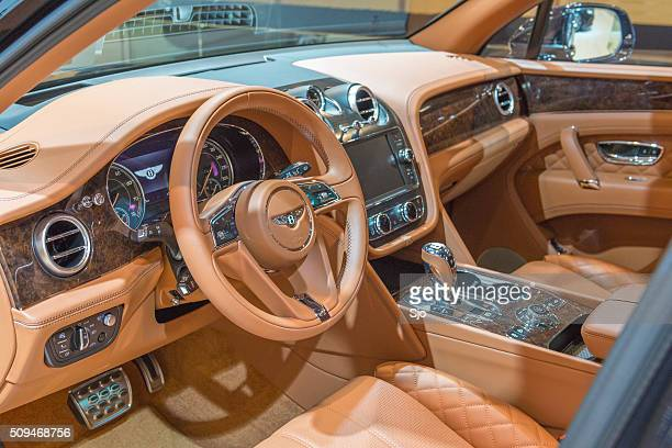 Bentley Bentayga luxury SUV interior