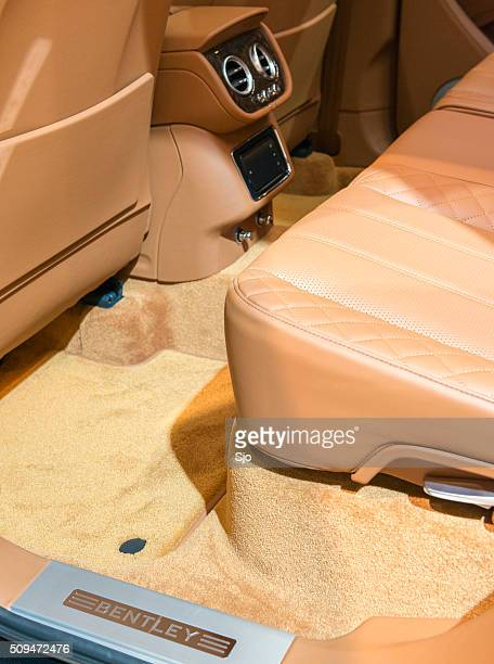 Bentley Bentayga Luxus-SUV innen Rücksitze