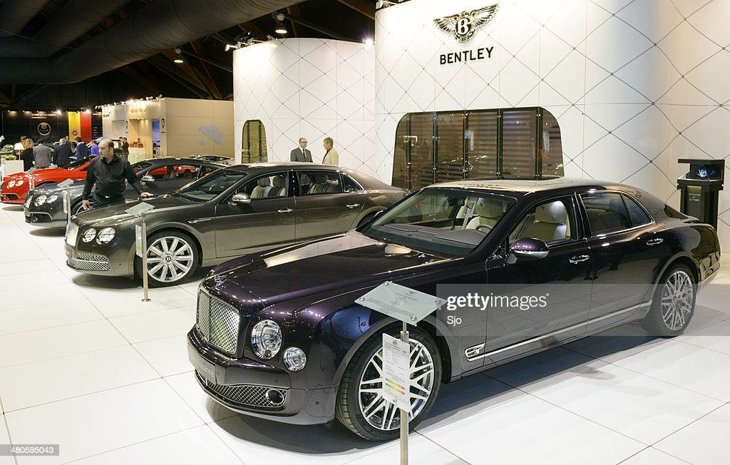 Bentley Birkin Mulsanne : Stock Photo