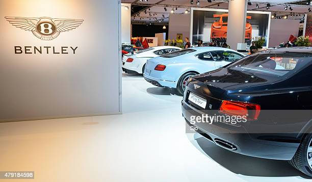 Bentley British luxury automaker motor show stand