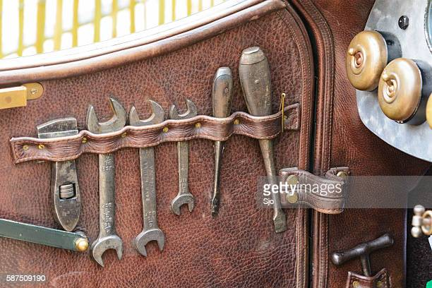 bentley classic car toolkit - bentley stock pictures, royalty-free photos & images