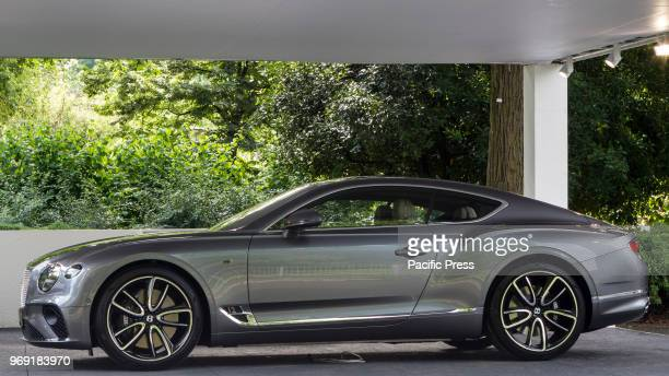 Bentley Continental GT 2018 edition of Parco Valentino car show hosts cars by many automobile manufacturers and car designers inside Valentino Park
