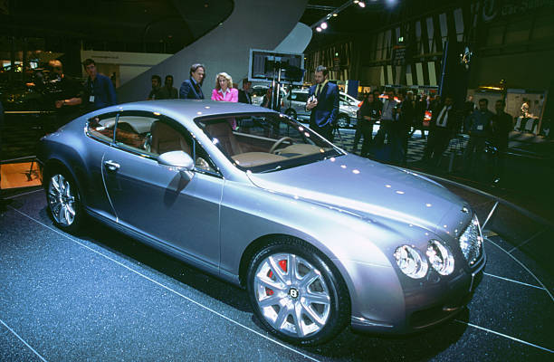 2002 Bentley Continental Gt At Nec Motor Show Pictures Getty Images