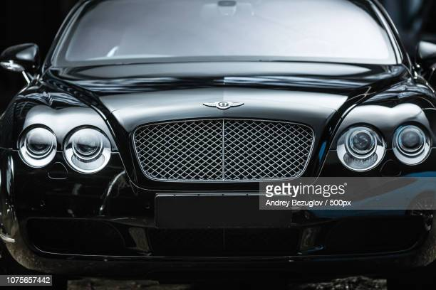 bentley continental gt coupe - bentley stock pictures, royalty-free photos & images