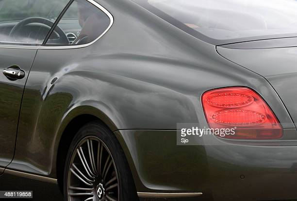Bentley Continental GT sports car detail