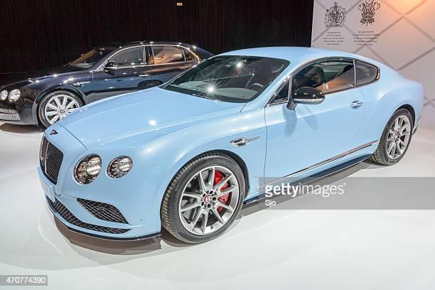 ベントレーコンチネンタル gt v8s スポーツ車 - bentley continental gt ストックフォトと画像