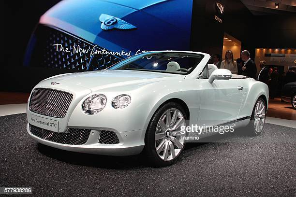 Bentley Continental GTC on the motor show