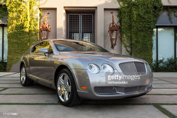 bentley continental - bentley stock pictures, royalty-free photos & images