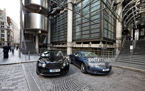 Bentley Continentals At Lloyds.