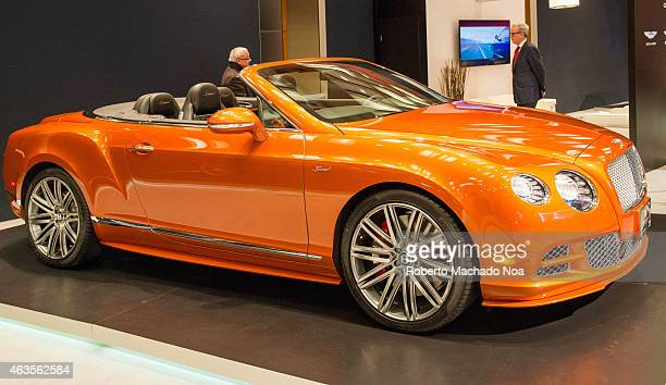 CENTRE TORONTO ONTARIO CANADA Bentley Exotic Car in the Canadian International AutoShow CIAS for short is Canada's largest auto show and most...