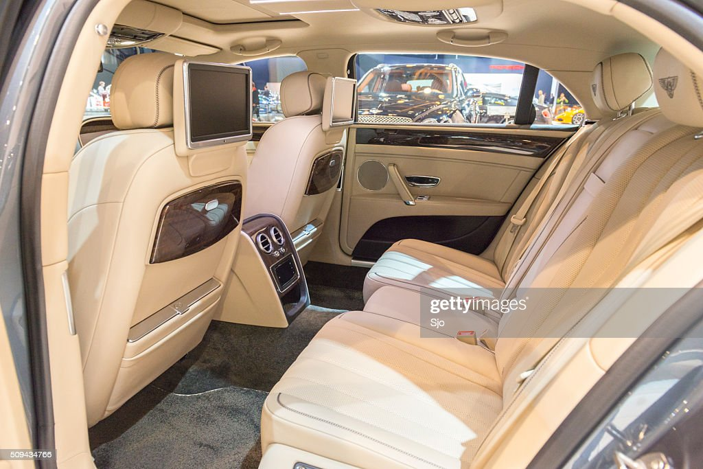 Bentley Flying Spur V8 Luxury Sedan Interior Stock Photo Getty Images