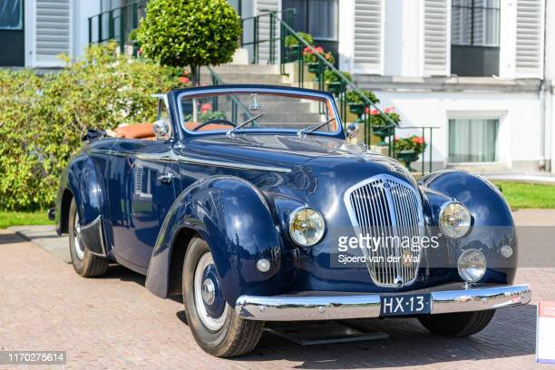 Bentley MK VI Roos bodywork 1948 classic car on display at the 2019 Concours d'Elegance at palace Soestdijk on August 25 2019 in Baarn Netherlands...