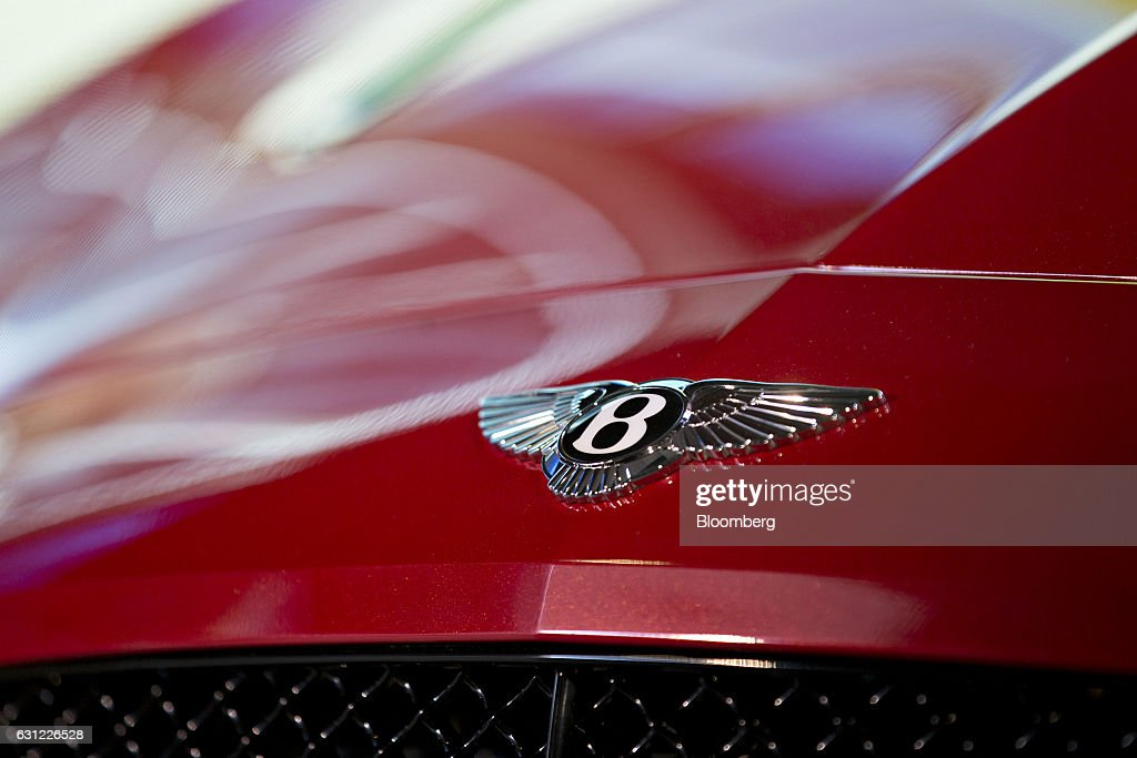 Bentley Motors Ltd. Event Ahead Of The 2017 North American International Auto Show (NAIAS) : News Photo
