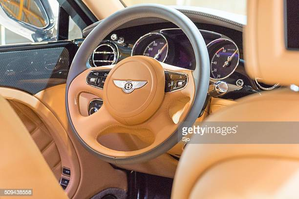 Bentley Mulsanne Speed luxury sedan dashboard
