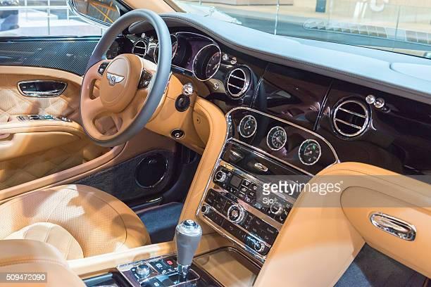 Bentley Mulsanne Speed luxury sedan dashboard