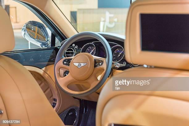 Bentley Mulsanne Speed luxury sedan interior
