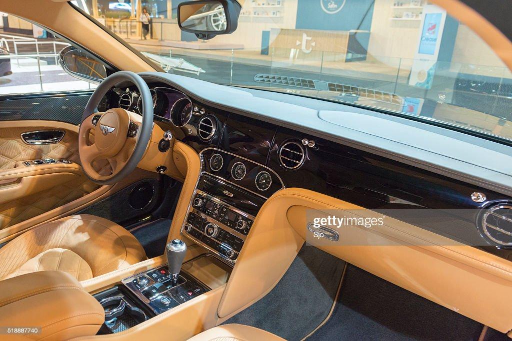 Bentley Mulsanne Speed Luxury Sedan Interior High Res Stock Photo Getty Images