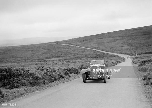 Bentley of FE Elgood, winner of a premier award at the MCC Torquay Rally, July 1937. Bentley 4398 cc. Vehicle Reg. No. MP4552. Event Entry No: 102...