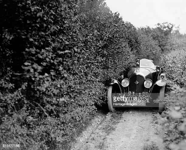 Bentley of Miss MH Ogilvie taking part in the North West London Motor Club Trial 1 June 1929 Bentley Speed Model 1925 2996 cc Vehicle Reg No XX6856...