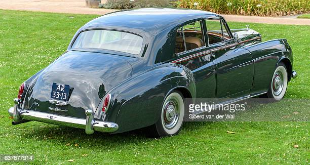 "bentley s2 continental classic british luxury car - ""sjoerd van der wal"" photos et images de collection"