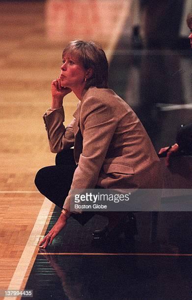 Bentley women's basketball coach Barbara Stevens