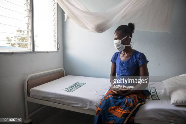 Bento Williams who started treatment in the JJ Dosen Hospital, Maryland, Liberia. Liberia is listed as one of the high-burden countries for...