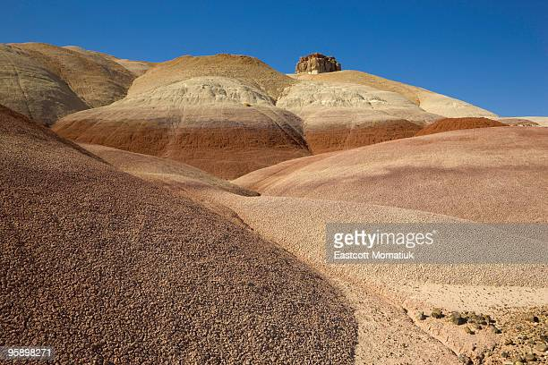 bentonite hills, capitol reef n.p. - capitol reef national park stock pictures, royalty-free photos & images