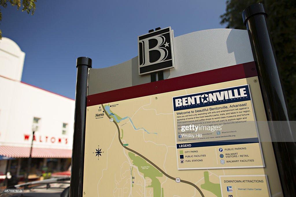 Bentonville, Arkansas : Stock Photo