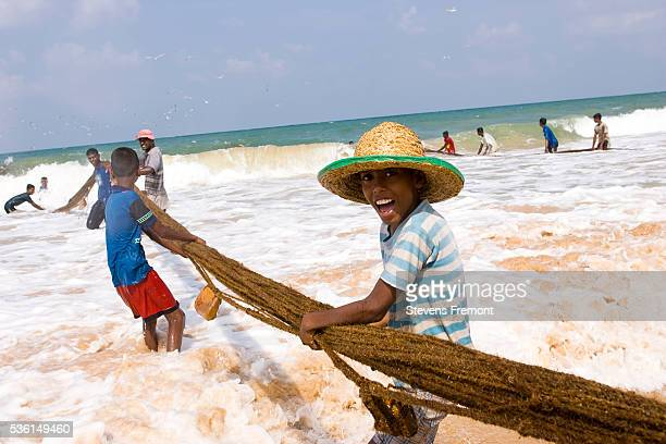 bentota, in front of gulf of mannar - sri lanka stock pictures, royalty-free photos & images