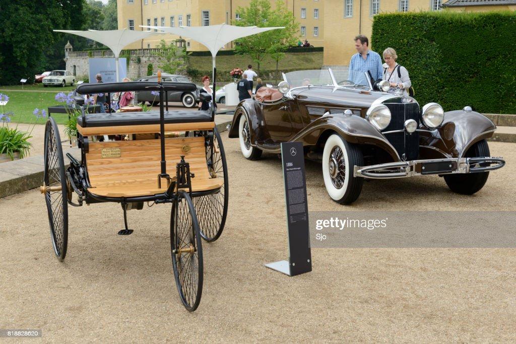 Benz Patent Motorwagen 1886 The Worlds First Automobile Stock Photo ...