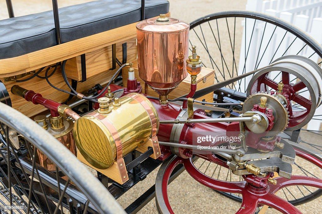 Benz Patent Motorwagen Engine 1886 The Worlds First Automobile Stock ...