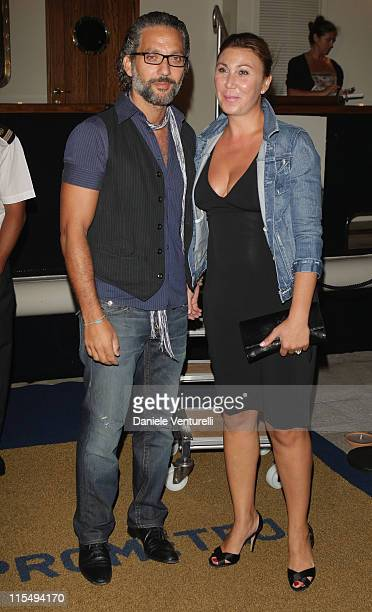 Beppe Fiorello and Eleonora Pratelli attend the Bad Lieutenant Port Of Call New Orleans Party during the 66th Venice Film Festival on September 4...