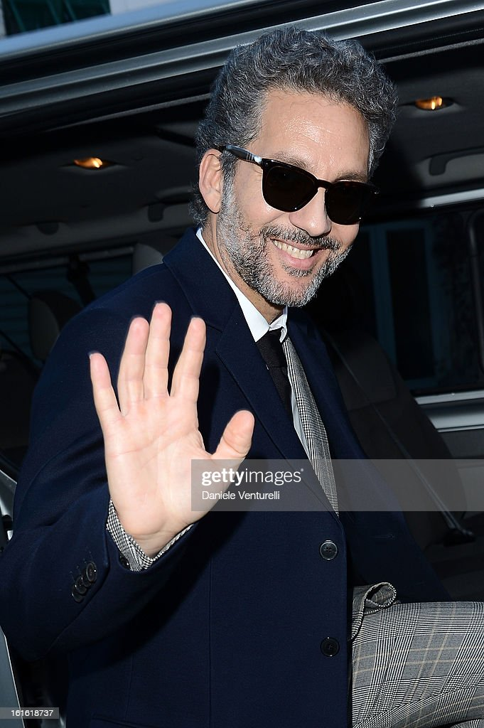 Beppe Fiorello attends the Day 2 Photocall during the 63th Festival di Sanremo 2013 on February 13, 2013 in Sanremo, Italy.