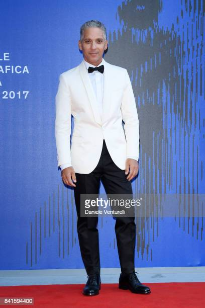 Beppe Fiorello attends the Franca Sozzani Award during the 74th Venice Film Festival on September 1 2017 in Venice Italy