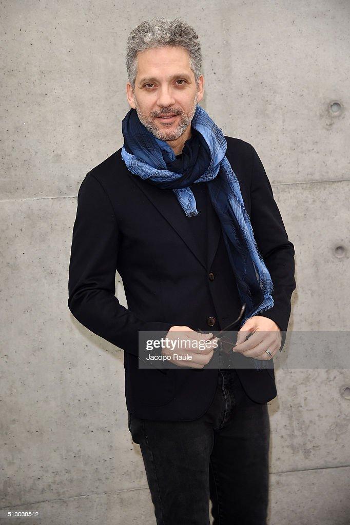 Giorgio Armani - Front Row - Milan Fashion Week  FW16