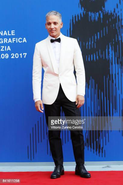 Beppe Fiorello attends the The 1st Franca Sozzani Award during the 74th Venice Film Festival at Sala Giardino on September 1 2017 in Venice Italy