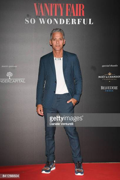 Beppe Fiorello attends Vanity Fair 'So Wonderful' Party during the 74th Venice Film Festival at Cipriani Hotel on August 31 2017 in Venice Italy