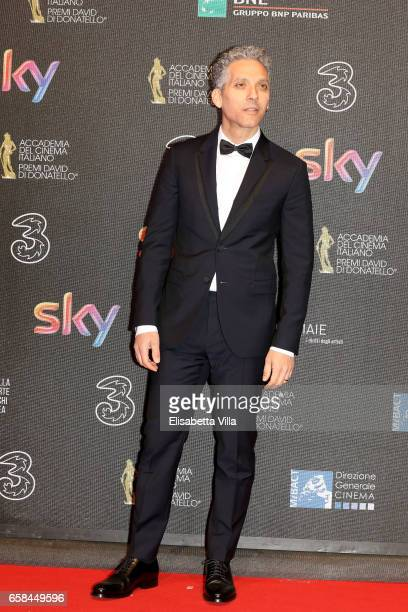 Beppe Fiorello walks the red carpet of the 61 David Di Donatello on March 27 2017 in Rome Italy