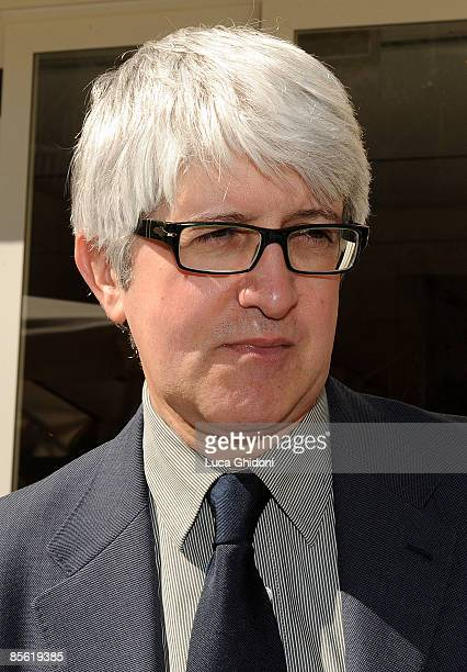 Beppe Severgnini attends the 2008 E' Giornalismo award on March 26 2009 in Milan Italy Attilio Bolzoni of 'la Repubblica' newspaper won this years...