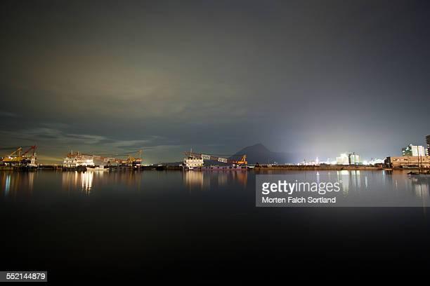 beppu harbor - 別府市 ストックフォトと画像