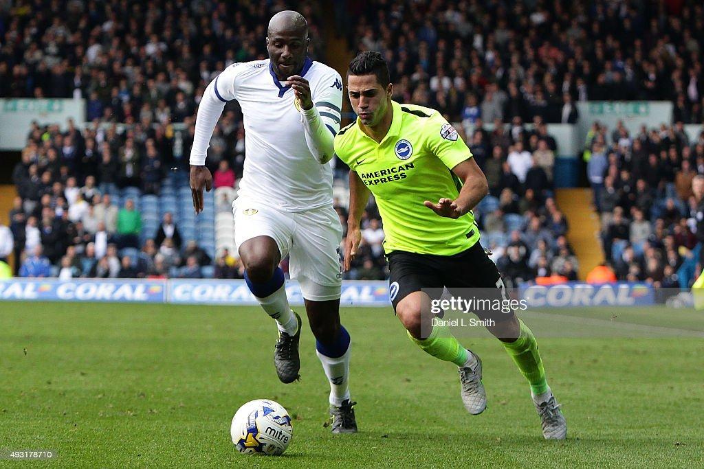Leeds United v Brighton & Hove Albion - Sky Bet Championship