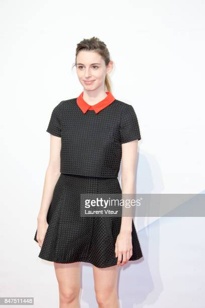 Berangere McNeese attends Le Viol Photocall during the 19th Festival of TV Fiction at La Rochelle on September 15 2017 in La Rochelle France