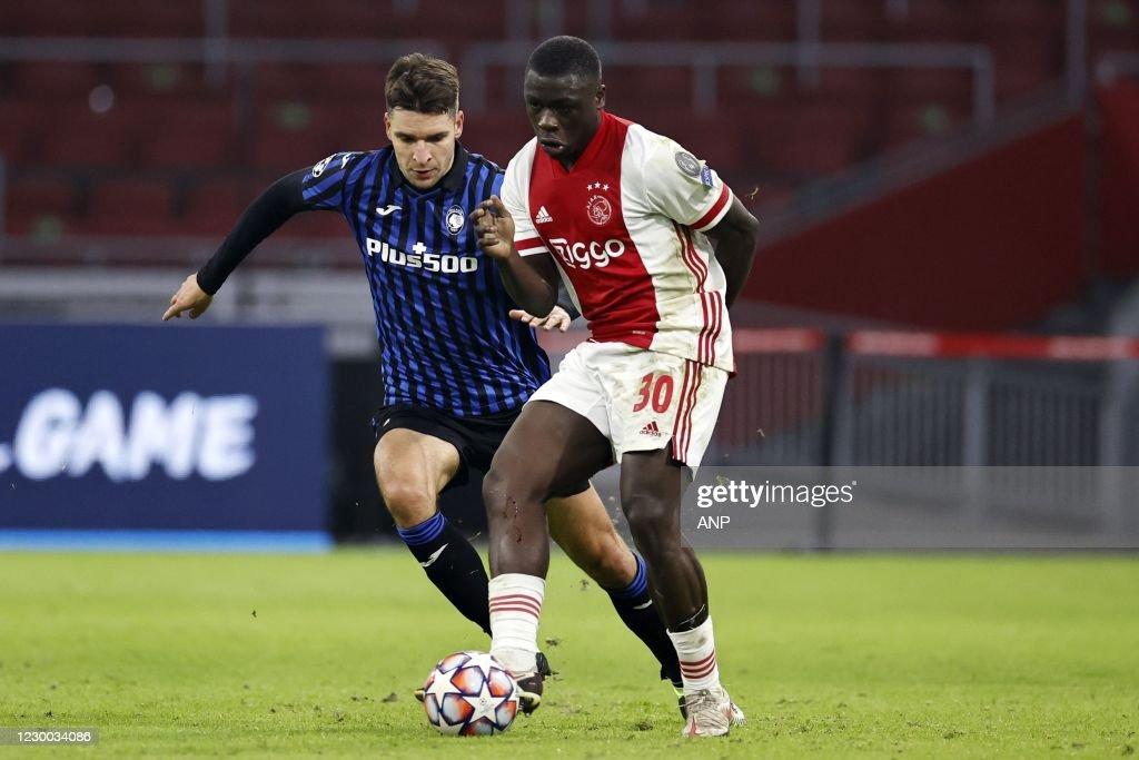 "UEFA Champions League Group D""Ajax Amsterdam v Atalanta Bergamo"" : News Photo"
