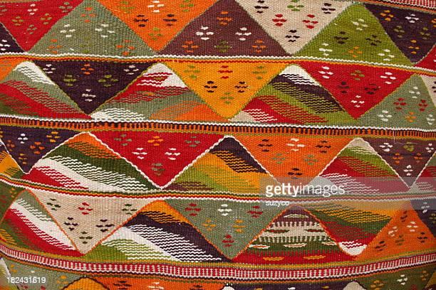 Berber carpet close up