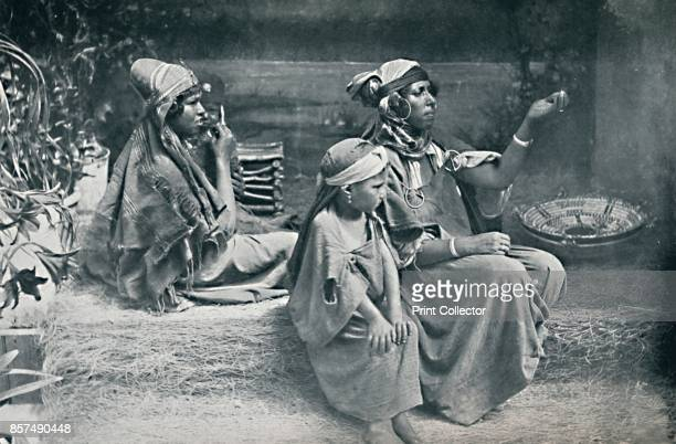 Berber country women from the interior of Tunisia 1912 From The Living Races of Mankind Vol II [Hutchinson Co London 1912] Artist Schroeder Co